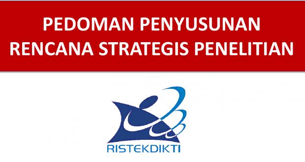 Rencana Strategis Penelitian